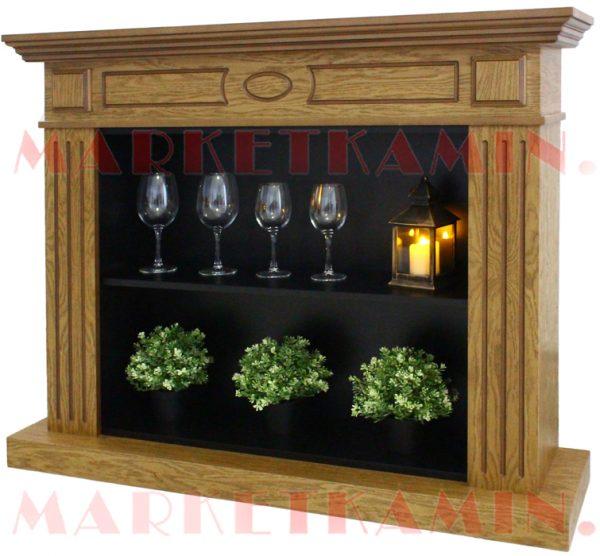 Декоративные камины (камин-витрина, свечной камин)